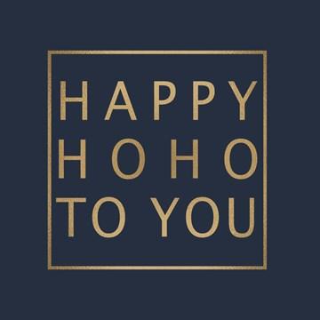 Kerstkaart - kerst-top-10-happy-ho-ho-to-you