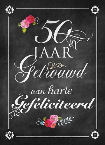 50 Jaar Getrouwd Dat Verdient Een Felicitatiekaart Hallmark