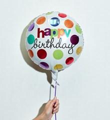 Ballon Verjaardag Confetti