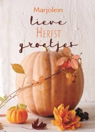 Herfst kaart - herfst-kaart-lieve-herfst-groetjes