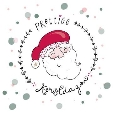 Kerstkaart - Kerstkaart-Funny-Side-Up-Up-vrolijke-kerstman