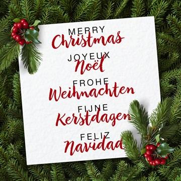 Kerstkaart - kersttakken-met-een-brief