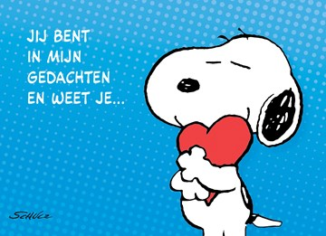 Snoopy kaart - CE4F0A45-FF82-4D0A-8A8A-8A53FAE5A938