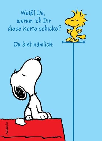 Snoopy Karte - EDB5FB03-DF76-4EA0-B0DD-2205568E9E7C