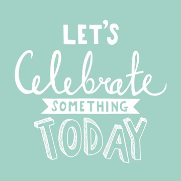 Felicitatiekaart - gefeliciteerd-man-lets-celebrate-something-today