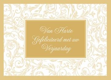 Zakelijke verjaardagskaart - van-harte-gefeliciteerd-met-uw-verjaardag