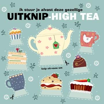 - Verjaardagskaart-grappig-vrouw-uitknip-high-tea