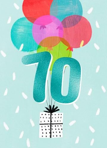 - Verjaardagskaart-leeftijden-70-man-vrouw-ballonnen