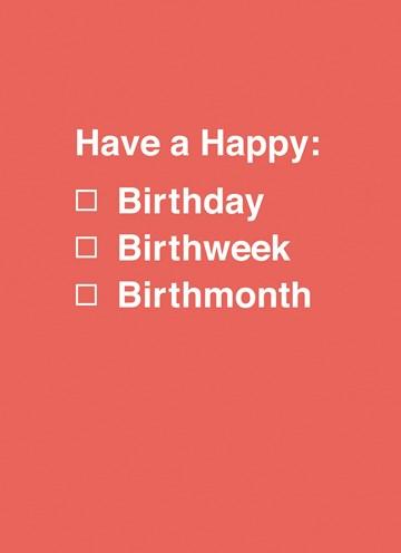 Shoebox-collectie kaarten - have-a-happy-birth