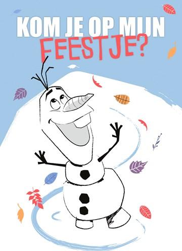 - Verjaardagskaart-uitnodiging-Disney-Frozen-2-Olaf-kom-je-op-mijn-feestje
