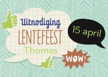 Uitnodiging maken - uitnodiging-lente-feest-wow-tekstwolk