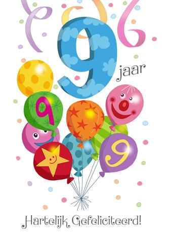Verjaardag Meisje 9 Jaar