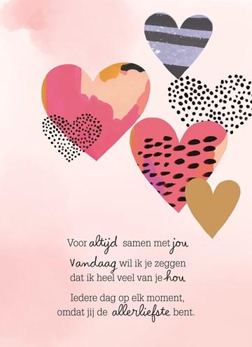 Liefde kaart - Vriendschapskaart - valentijnkaart-voor-altijd