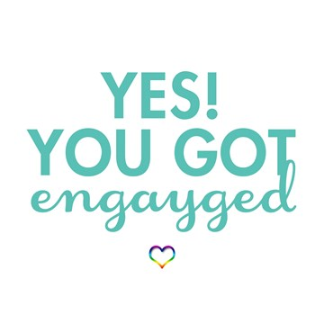 wenskaarten - yes-you-got-engaged