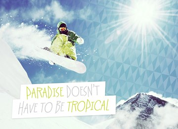 Winterkaart - paradise-does-not-have-to-be-tropical