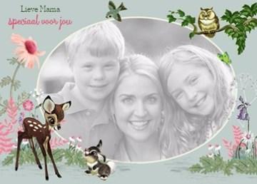 - moederdag-kaart-bambi-lieve-mama-speciaal-voor-jou