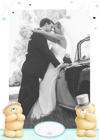 - fotokaart-huwelijk-staand-forever-friends-wit-met-hartjes