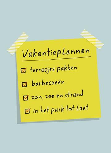 - vakantieplannen-lijst
