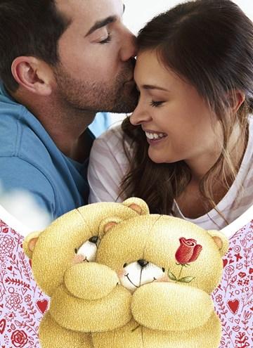 valentijnskaart - forever-friends-fotokaart-