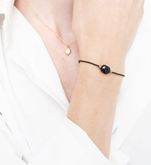 A Beautiful Story Armband Onyx
