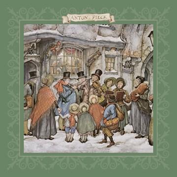 Winterkaart - koor-zingen-mensen
