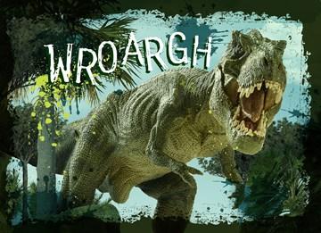 - een-felicitatie-van-een-tyrannosaurus-rex