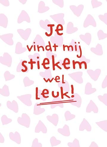 valentijnskaart - je-vindt-my-stiekem-wel-leuk