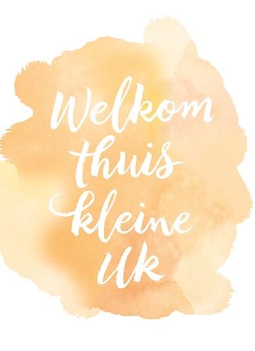 Geboortekaartje - welkom-thuis-keine-uk