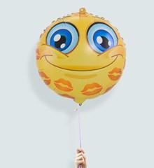 Ballon Emoji Kusjes
