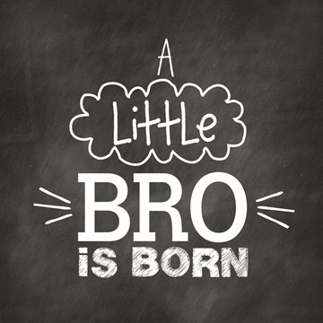 Geboortekaartje - a-little-bro-is-born