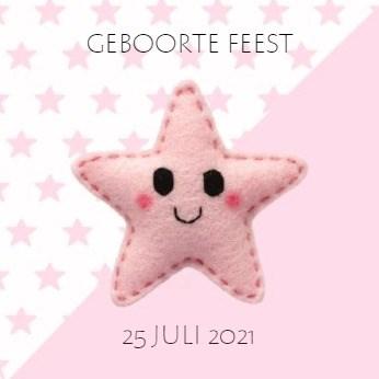 - roze-geboorte-kaart-met-sterretjes