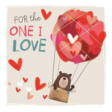 valentijnskaart - valentijn-for-the-one-i-love