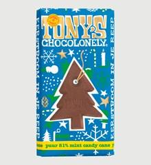 Tony's Chocolonely Candy Cane Kerstreep