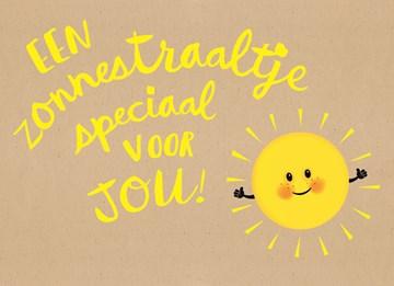 Beterschapskaart - een-mooi-zonnestraaltje-speciaal-voor-jou