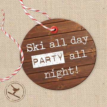 Winterkaart - ski-all-day-party-all-night