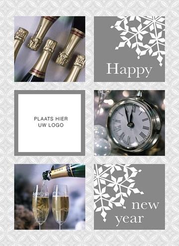 Zakelijke nieuwjaarskaart - een-succesvol-nieuwjaar-