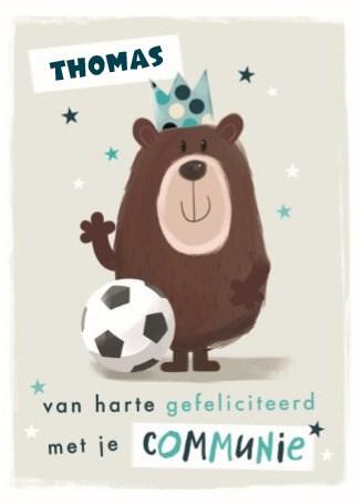 - communie-beer-en-voetbal