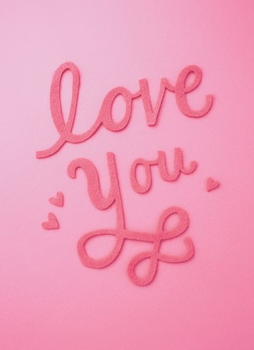 Valentijnskaart - love-you-roze