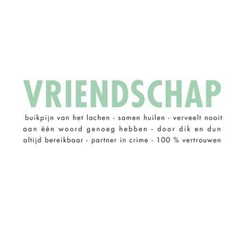 - vriendschap-tekst-kaart