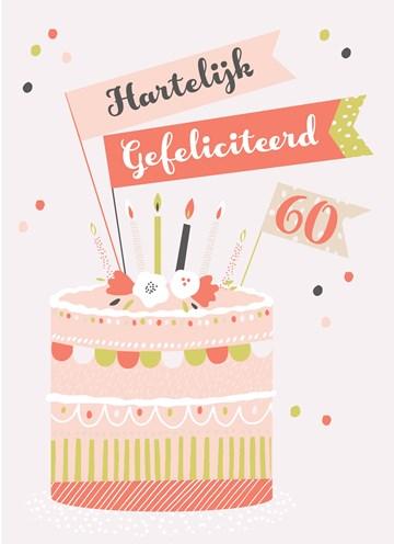- Verjaardagskaart-leeftijden-60-Verjaardagstaart