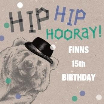 Verjaardagskaart tienerjongens - hooray-for-you