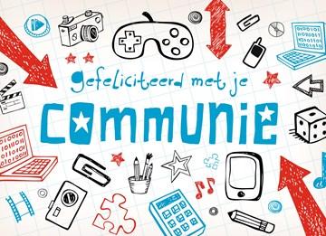 Communie kaart - tekeningen-controller-communie