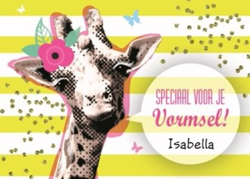 - vrolijke-zomerse-kaart-met-een-giraffe-en-een-bloem