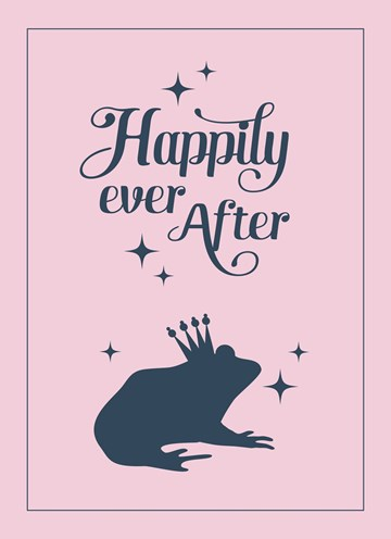 wenskaarten - happily-ever-after-frog