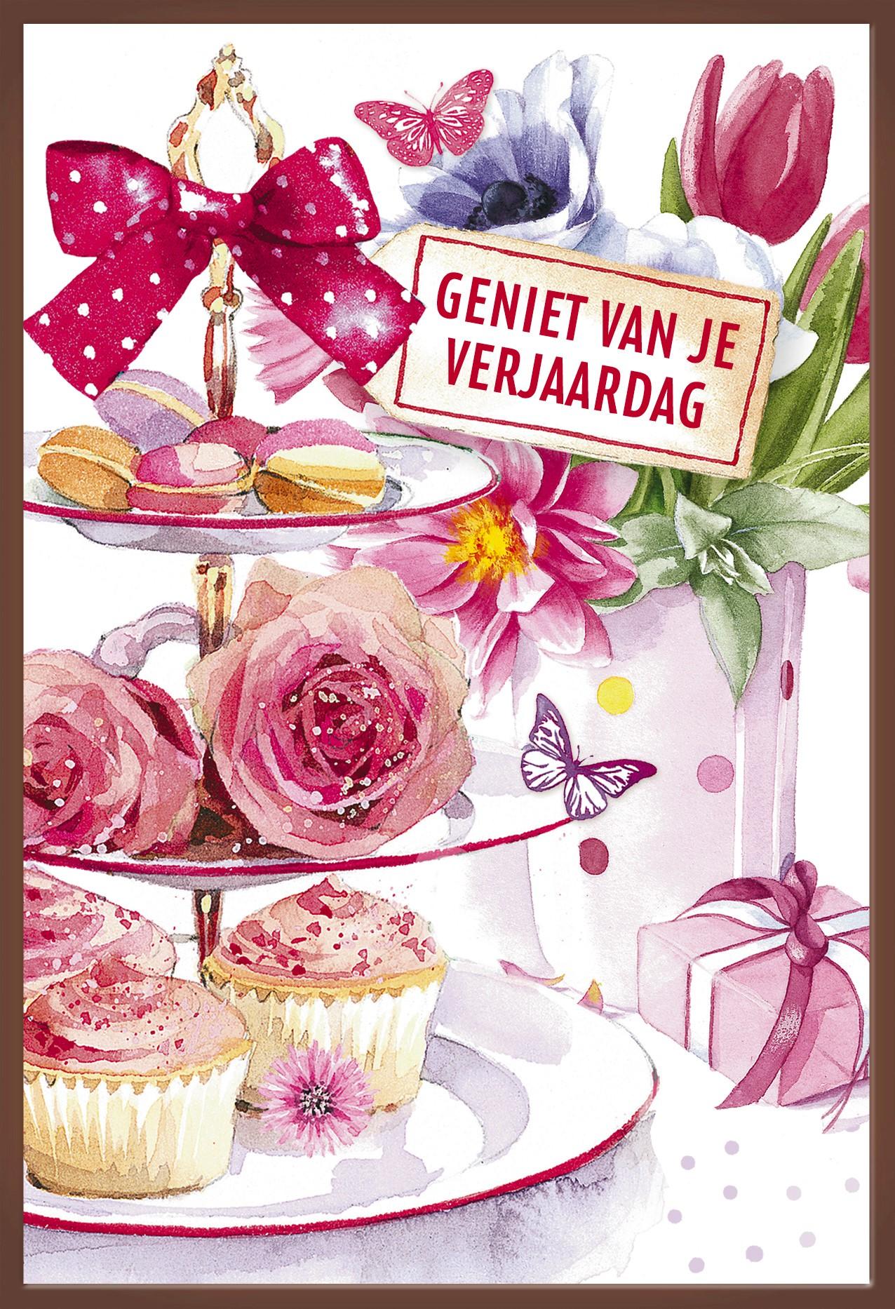 Kaart Verjaardag Vrouw