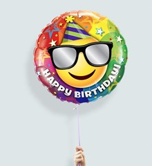 Ballon Emoji Verjaardag