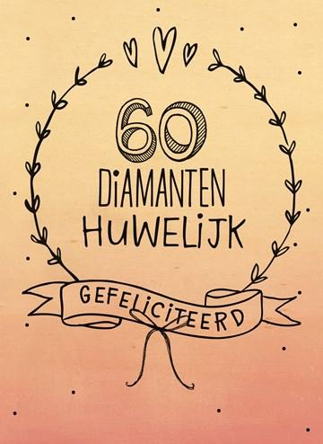 Genoeg 60 jaar getrouwd? Stuur een extra bijzondere kaart | Hallmark #RZ25