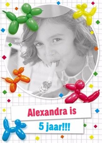 - verjaardagskaart-ballondieren-en-confetti