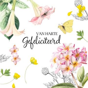 - Kaart-flowers-by-Marjolein-Bastin-Van-harte-gefeliciteerd