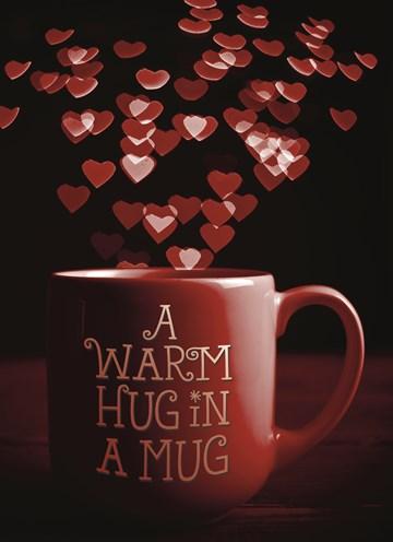 Valentijnskaart - a-warm-hug-in-a-mug